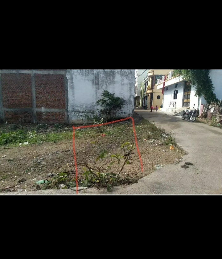 Ayodhya Nagar, F Sector, 775 sq.Ft Corner Plot, East Facing